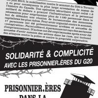 Solidarité et complicité avec les prisonnier.ères du G20
