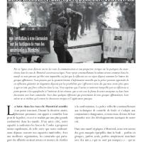 Déguisement dans un dessein criminel: une invitation à une discussion sur les tactiques de rues des anarchistes à Montréal