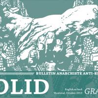 Parution de Solid - Bulletin anti-répression