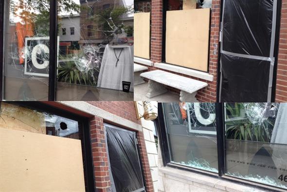 Vandalisme dans St-Henri