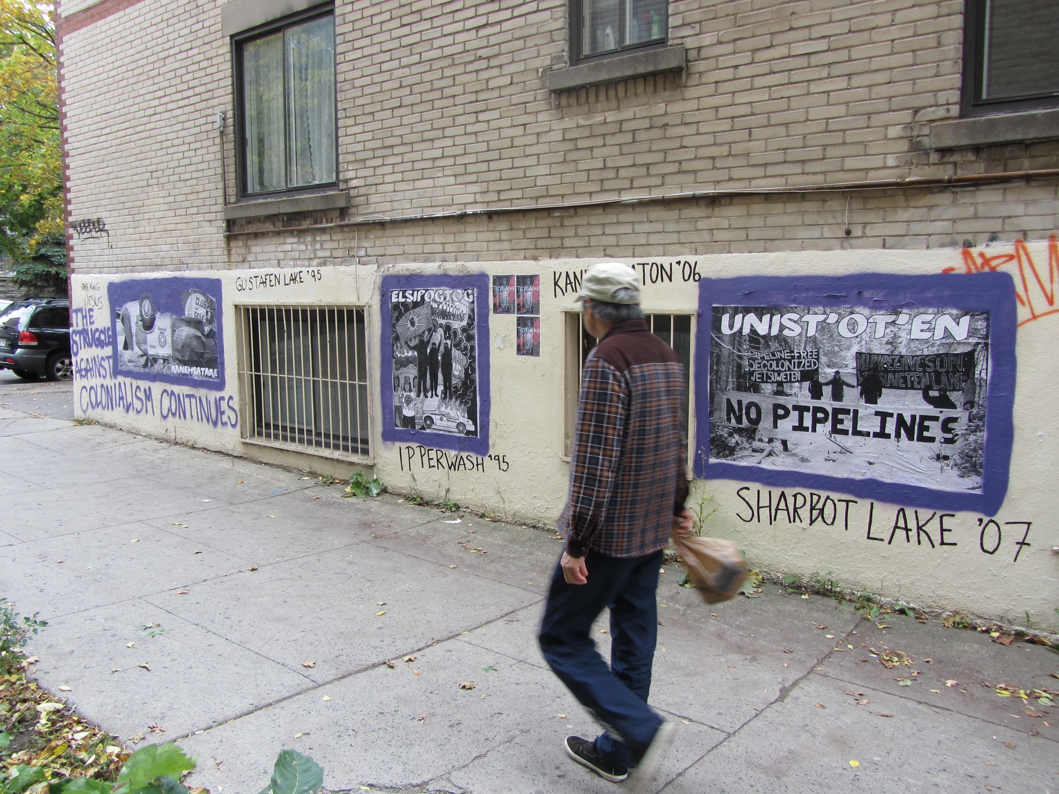 Contre-info en solidarité avec le camp Unist'ot'en