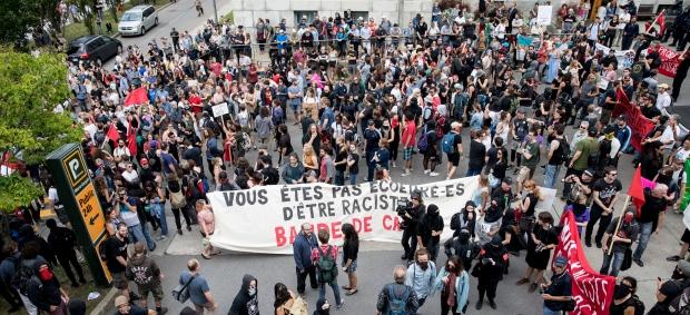 Mise en contexte et compte rendu des actions contre La Meute à Québec le 20 août