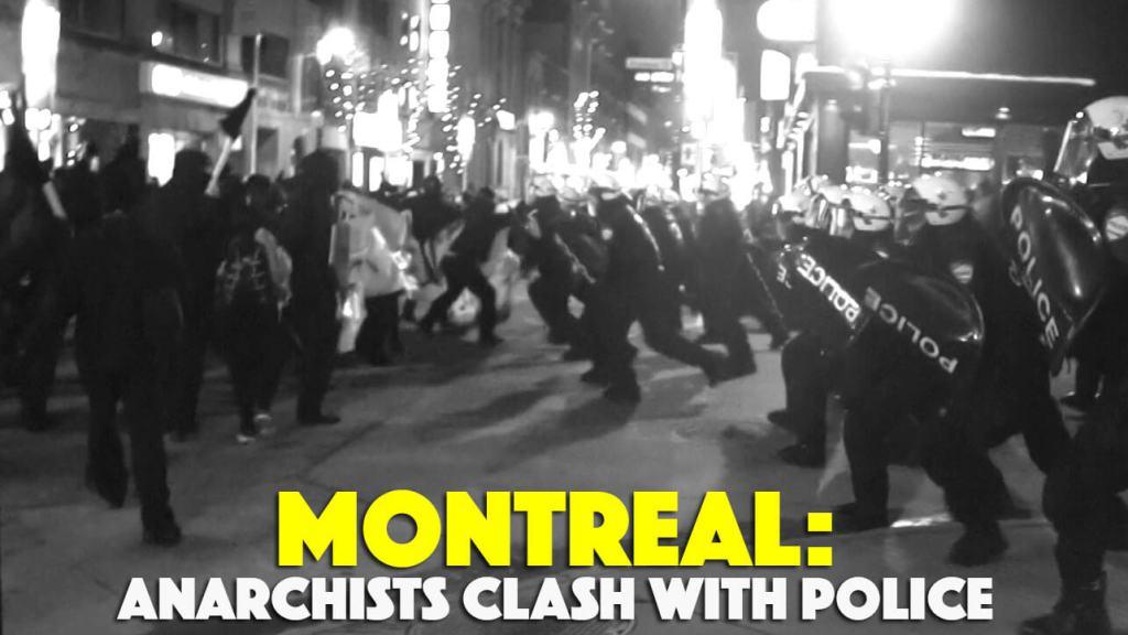 15 mars : les anarchistes affrontent la police