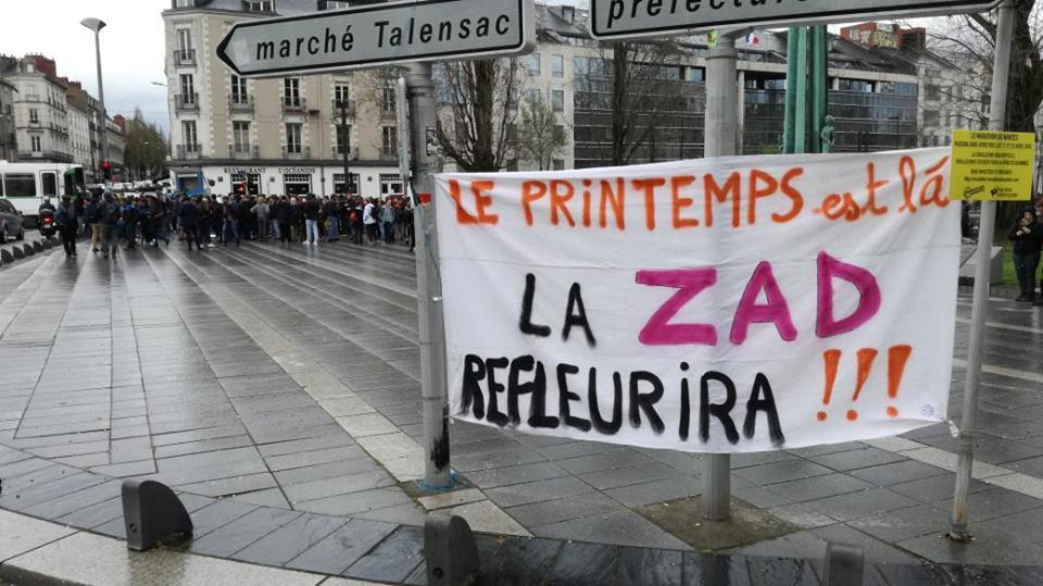 Vendredi - Rassemblement de solidarité avec la ZAD