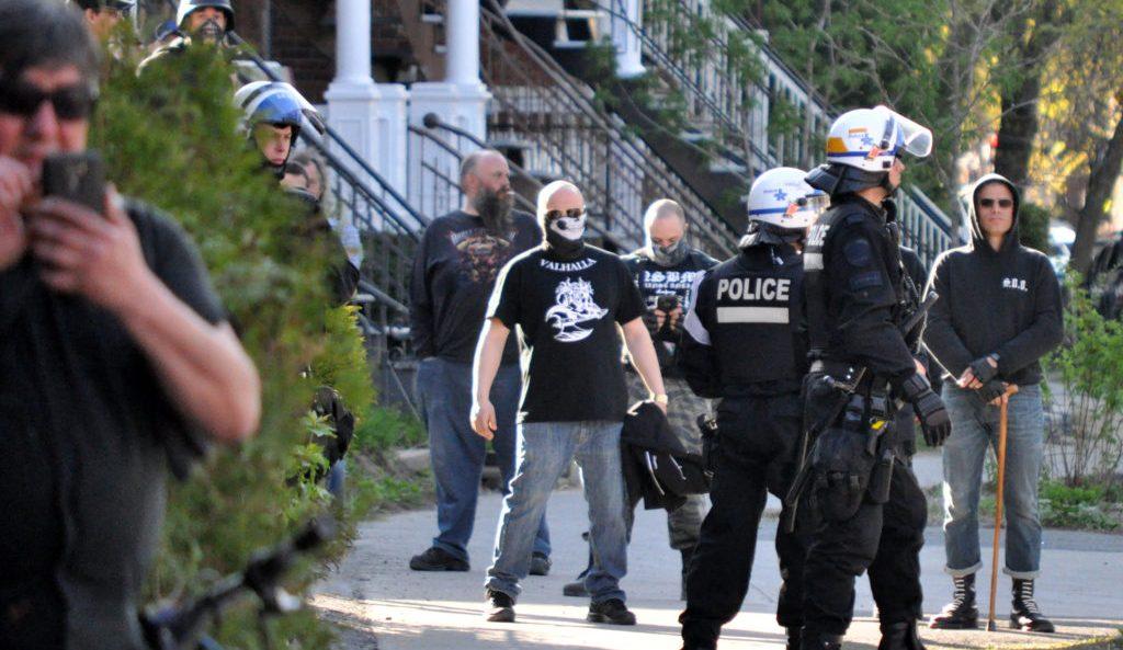 Soldiers of Odin à Montréal: la police protège (encore) les nazis!