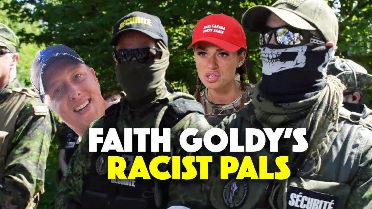 Faith Goldy et ses ami-e-s racistes