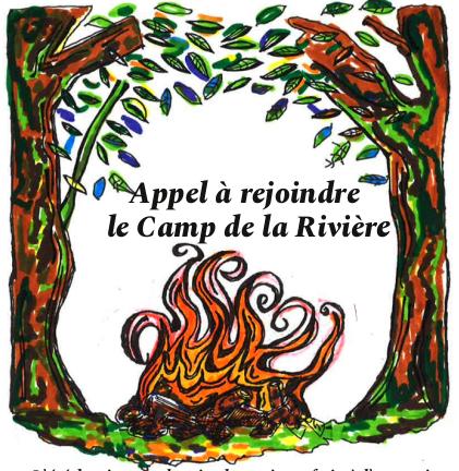 Appel à rejoindre le Camp de la Rivière