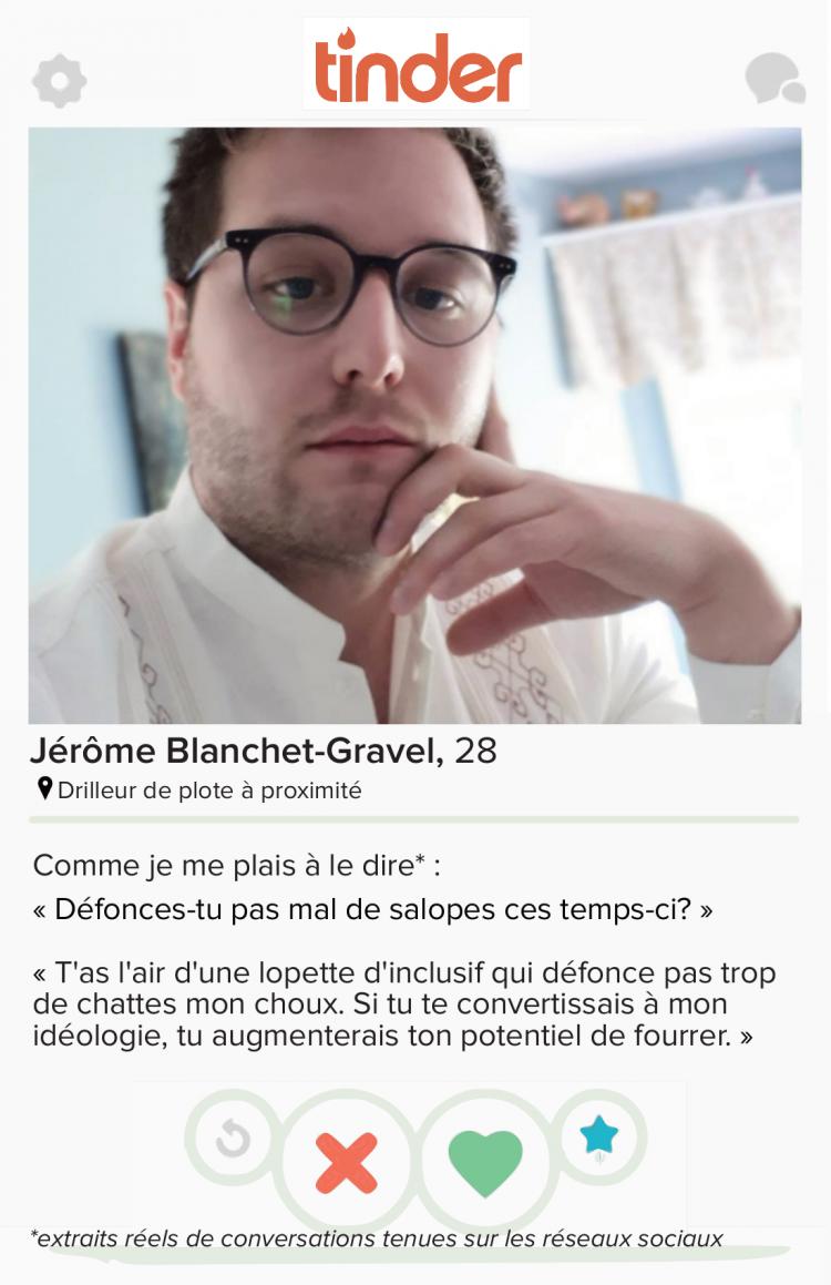 Affichage contre Jérôme Blanchet-Gravel