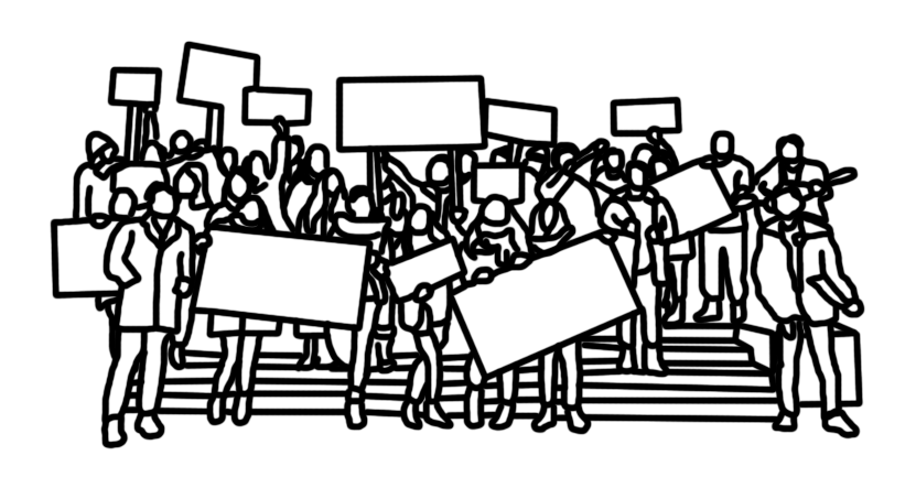 Les urnes, la rue, la grève