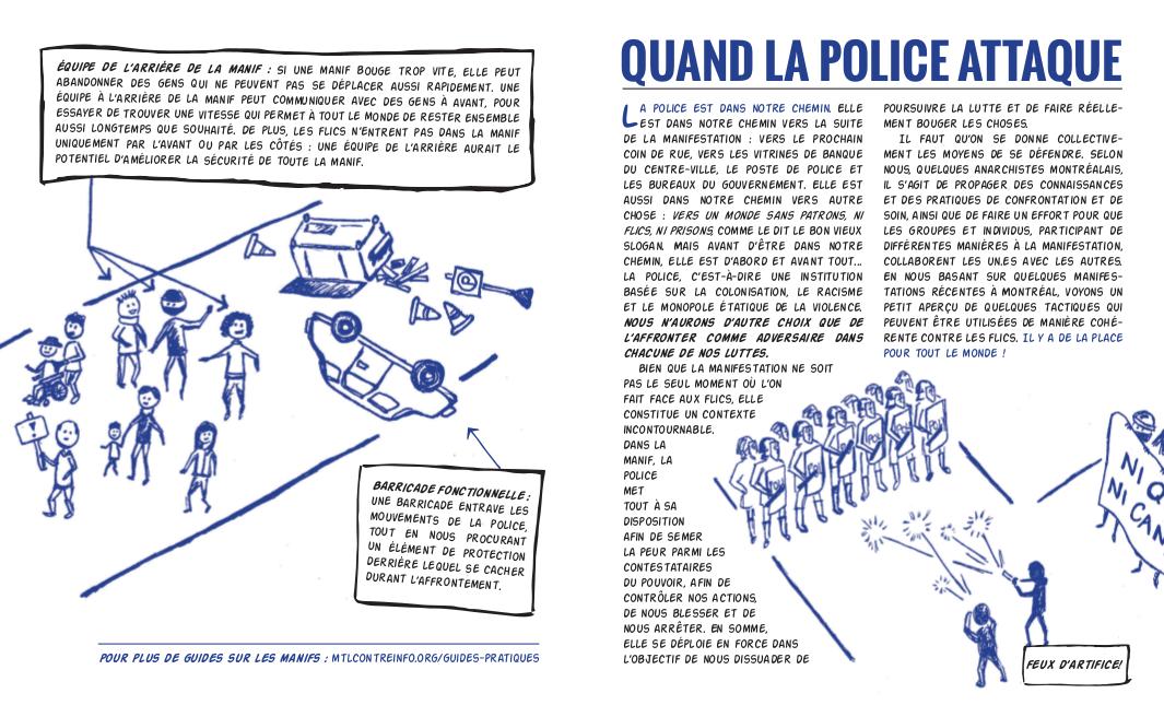 Tract : Quand la police attaque