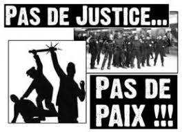 Appel de textes et d'organisation d'activités : PAS DE JUSTICE ? PAS DE PAIX !