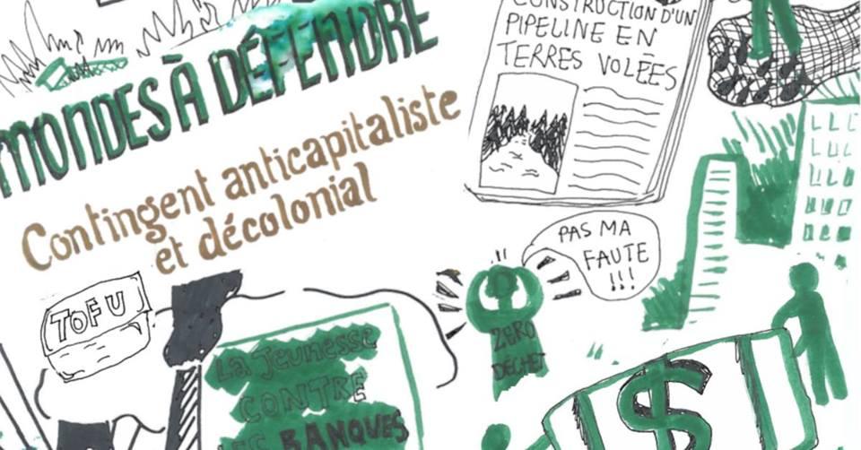 Appel à un contingent anticapitaliste et décolonial pour la manifestation Crise climatique: sonnons l'alarme