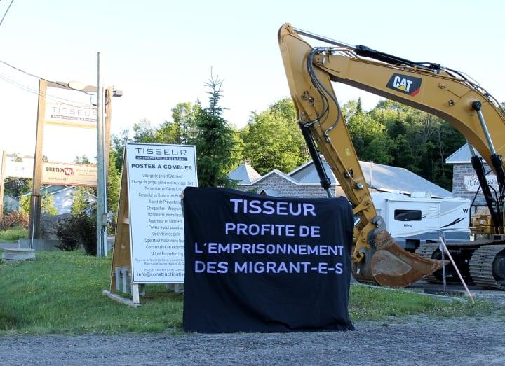 Attribution du contrat d'entrepreneur général pour la construction de la prison pour migrant-e-s
