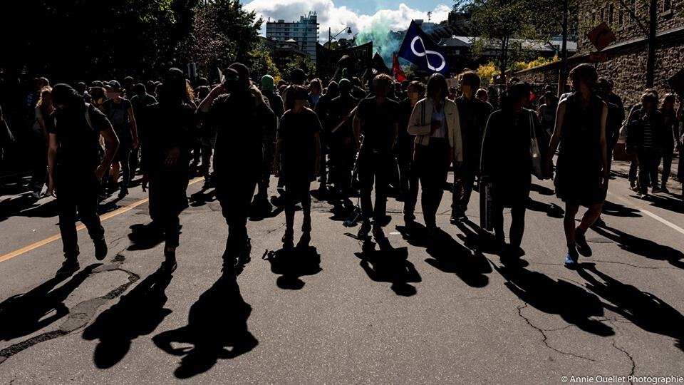 Stantec et le complex Guy-Favreau ciblés durant la marche pour le climat: Voici pourquoi le mouvement pour le climat devrait combattre le régime frontalier