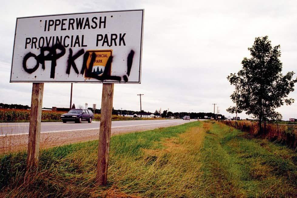 Ipperwash – été / automne 1995