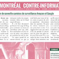 Montréal Contre-Info #9 (Été-Automne 2019)