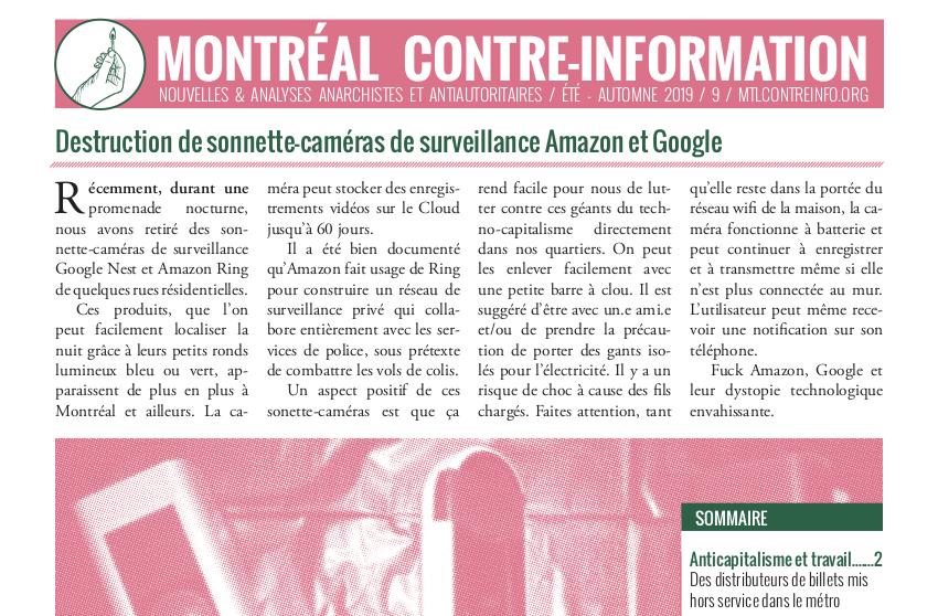 foto de Montréal Counter-information