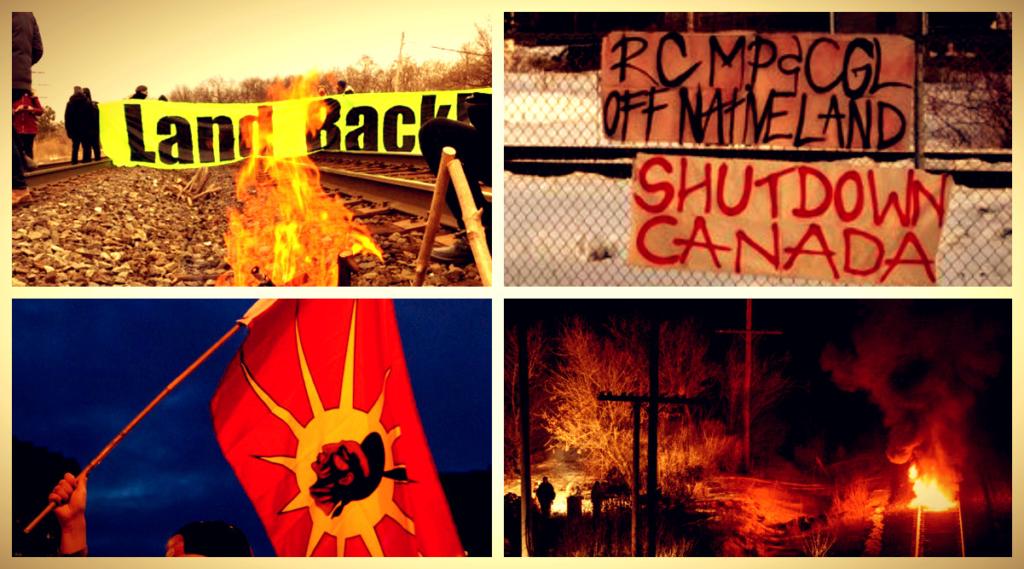 Déclaration de solidarité avec les Wet'suwet'en et leur lutte contre l'agression coloniale