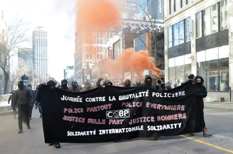 Communiqué post-manifestation - 15 mars 2020