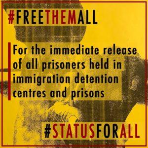 APPEL À L'ACTION: Des grévistes de la faim relâchés du centre de détention de Laval. L'ASFC continue à s'opposer aux demandes de libération des 22 personnes toujours détenues