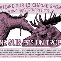 Supportons l'appel Anishnabeg pour un moratoire à la chasse à l'orignal dans le Parc La Vérendrye