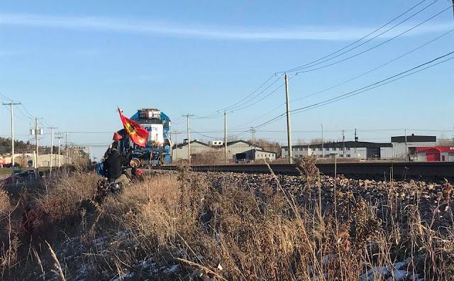 Retour sur le blocage ferroviaire contre le projet de GNL Québec