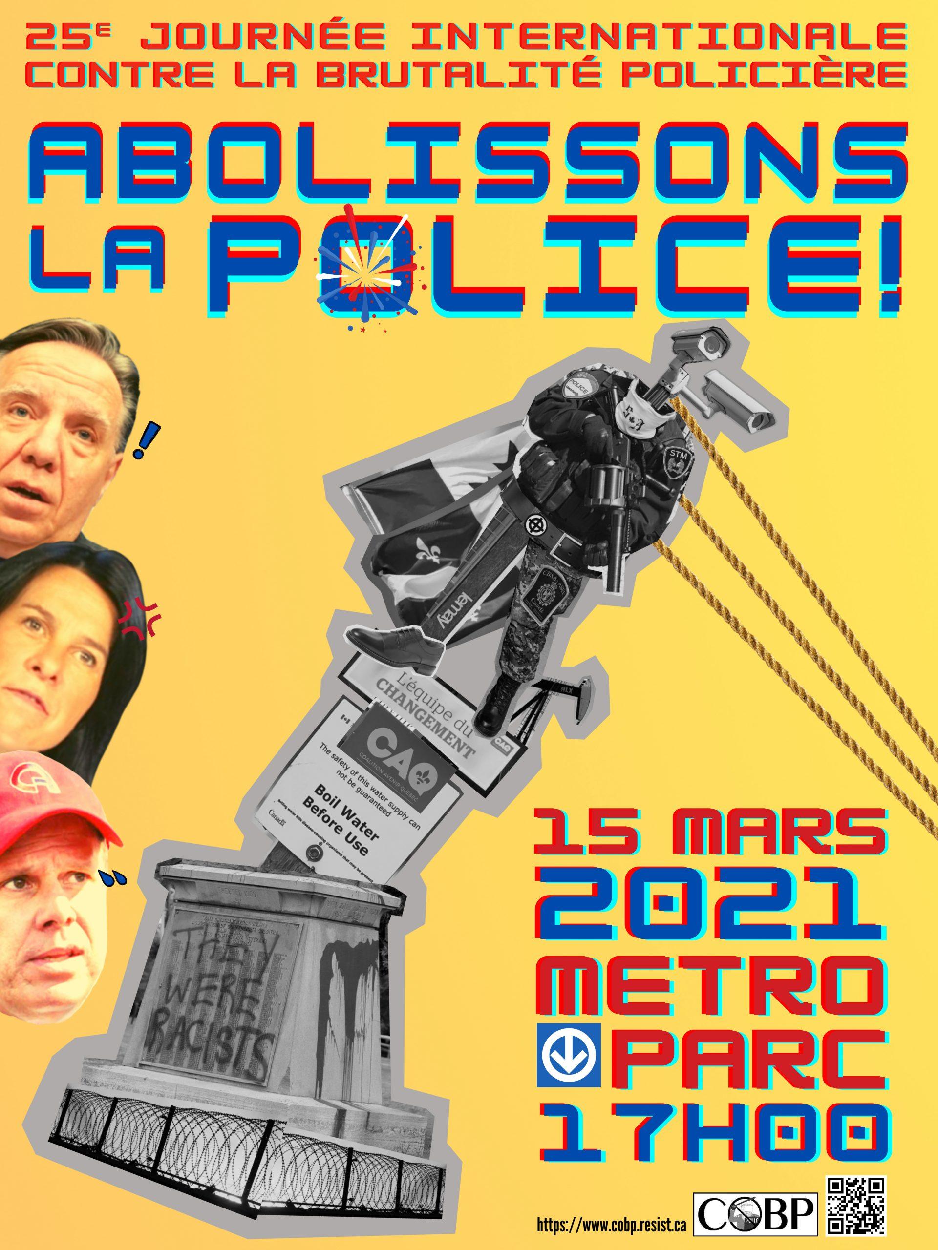 25e Journée internationale contre la brutalité policière