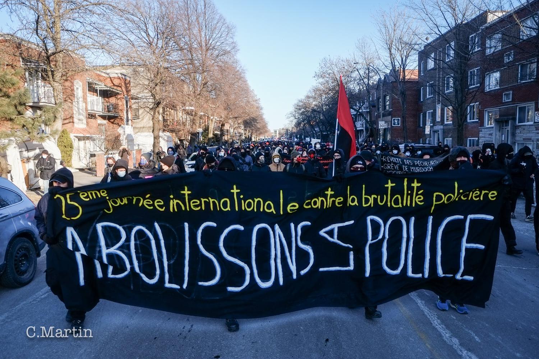 Communiqué du COBP : 25e manifestation annuelle pour la Journée internationale contre la brutalité policière