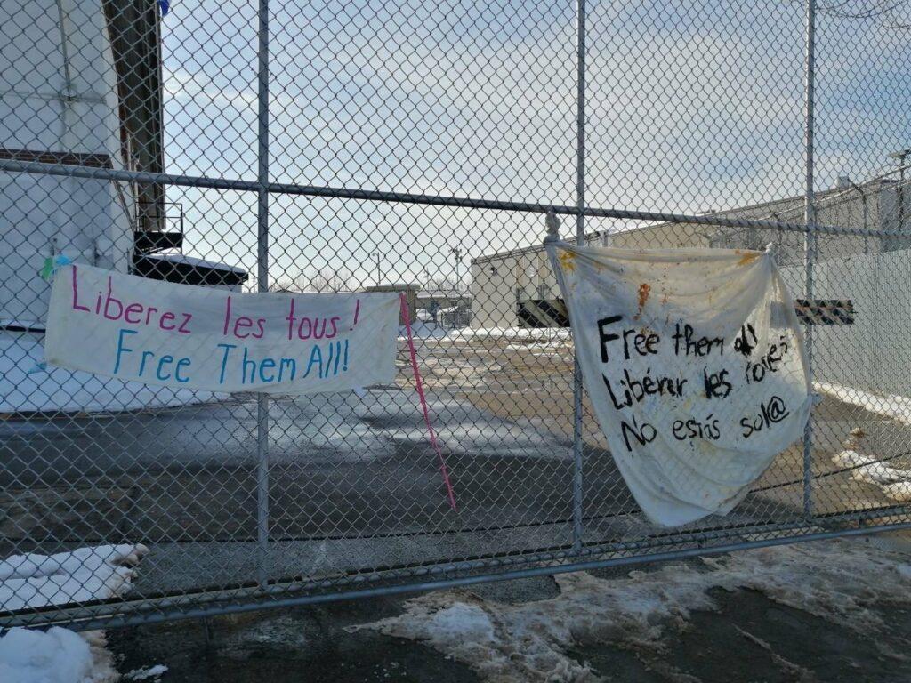 Déclaration des détenu-e-s du Centre de détention de Laval