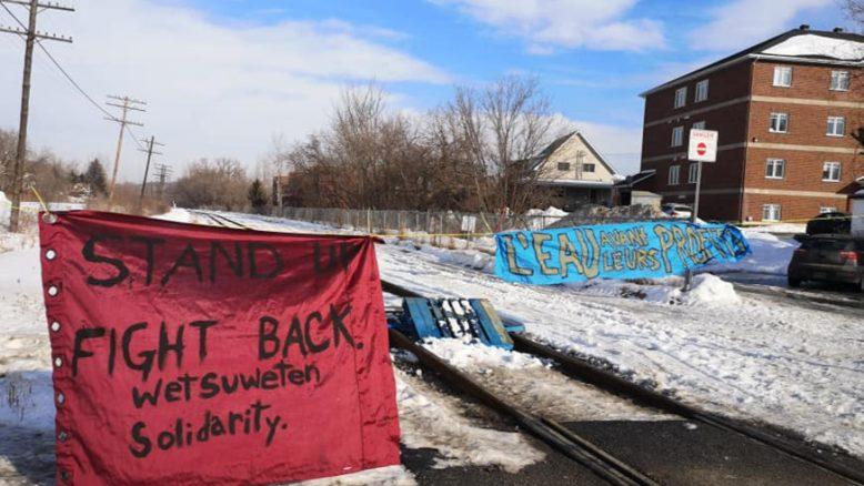 Abandon des poursuites contre les accusés du blocage ferroviaire de Lennoxville