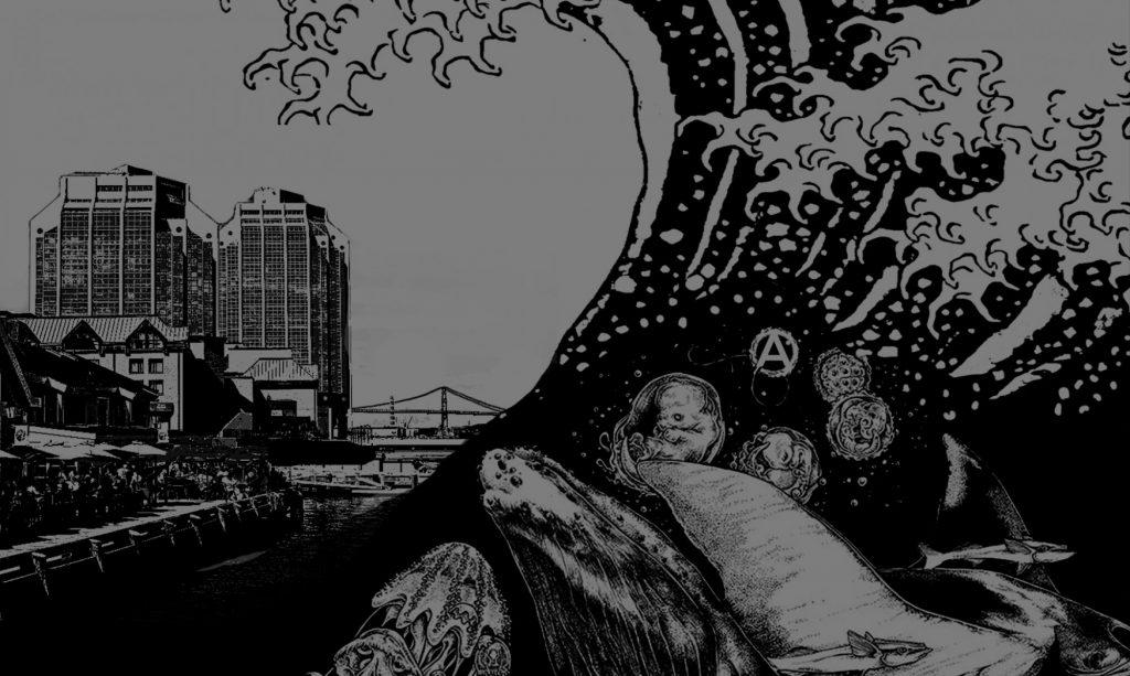 Annonce du 4e Salon du livre anarchiste annuel de Halifax