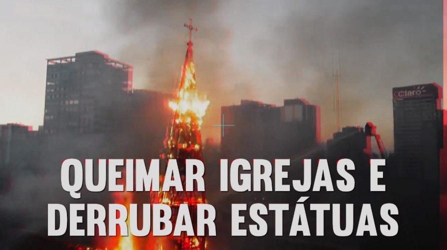 Brûler des églises, renverser des statues